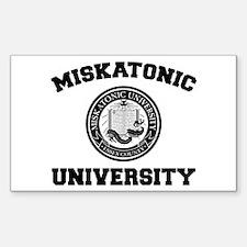 Miskatonic University Rectangle Decal