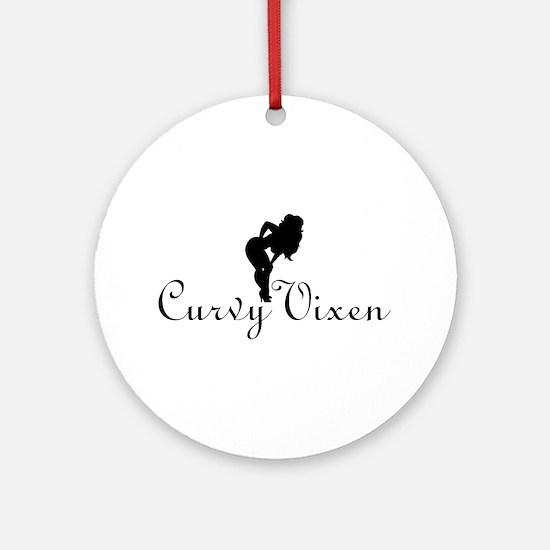 Curvy Vixen (ReDesign) Ornament (Round)