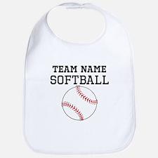 (Team Name) Softball Bib