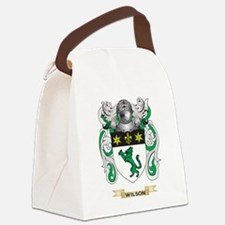 Wilson Family Crest (Coat of Arms Canvas Lunch Bag
