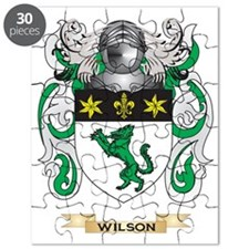 Wilson Family Crest (Coat of Arms) Puzzle
