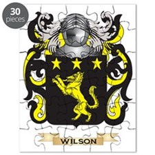 Wilson England Family Crest (Coat of Arms) Puzzle
