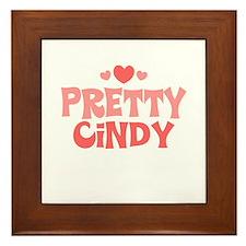 Cindy Framed Tile