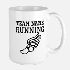 (Team Name) Running Mugs