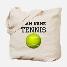 (Team Name) Tennis Tote Bag