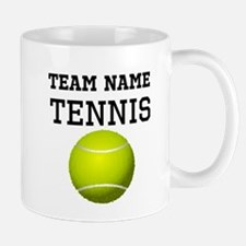 (Team Name) Tennis Mugs