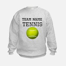 (Team Name) Tennis Sweatshirt