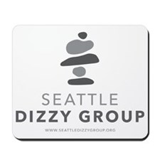 Seattle Dizzy Group Logo T-shirt Mousepad