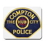 Compton CA Police Mousepad
