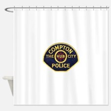 Compton CA Police Shower Curtain