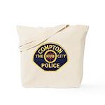 Compton CA Police Tote Bag