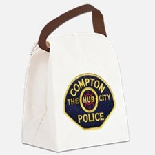 Compton CA Police Canvas Lunch Bag