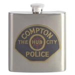 Compton CA Police Flask