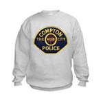 Compton CA Police Kids Sweatshirt