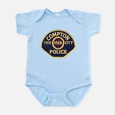 Compton CA Police Infant Bodysuit