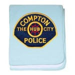 Compton CA Police baby blanket