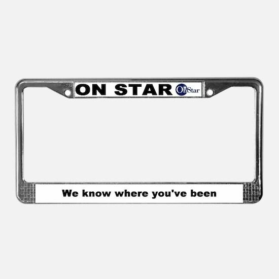 RFID License Plate Frame