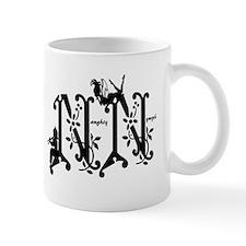 NN Naughty Nymph Charity Party Logo Mugs
