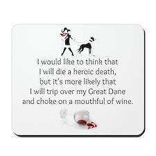 Wine Quote Mousepad