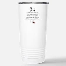 Wine Quote Travel Mug