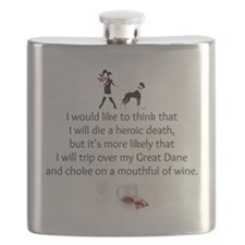 Wine Quote Flask