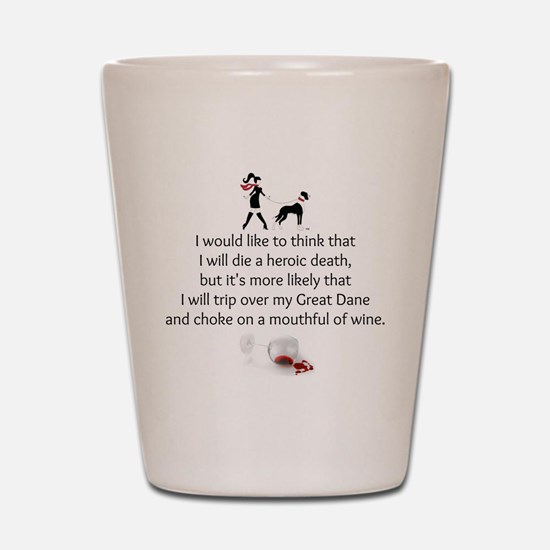 Wine Quote Shot Glass