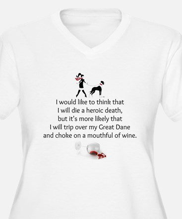 Wine Quote Plus Size T-Shirt