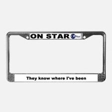 OnStar License Plate Frame