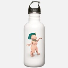 Naked Cleopatra Gnome Water Bottle