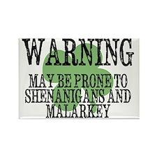 Shenanigans  Malarkey Rectangle Magnet