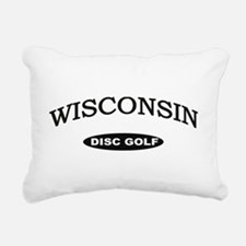 Wisconsin Disc Golf Rectangular Canvas Pillow