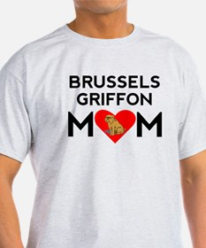 Brussels Griffon Mom T-Shirt