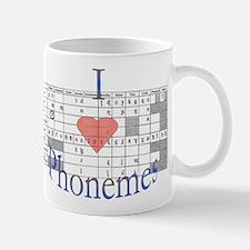 I <3 Phonemes Mugs