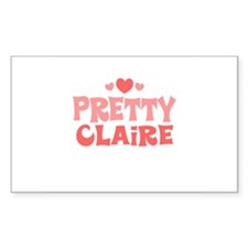 Claire Rectangle Decal