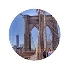 "Brooklyn Bridge 3.5"" Button"