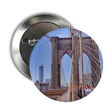 "Brooklyn Bridge 2.25"" Button"