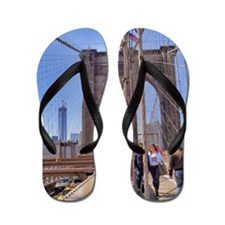 Brooklyn Bridge Flip Flops