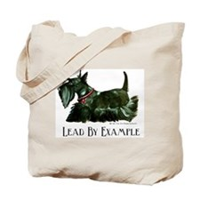 Scottish Terrier Leader Tote Bag