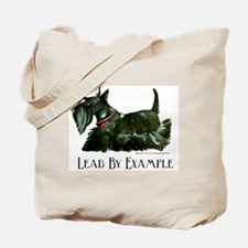 Scottish Terrier Leader Tote Bag