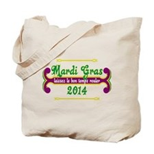 Mardi Gras Let the Good Times Roll Tote Bag