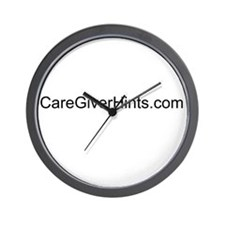 www.CareGiverHints.com Wall Clock