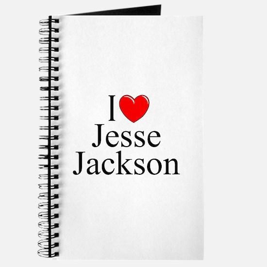 """I Love (Heart) Jesse Jackson"" Journal"