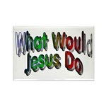 What Would Jesus Do Rectangle Magnet (10 pack)