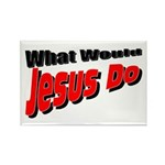 What Would Jesus Do Rectangle Magnet