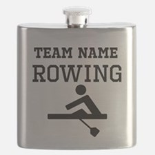 (Team Name) Rowing Flask