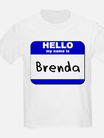 hello my name is brenda T-Shirt