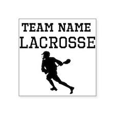 (Team Name) Lacrosse Sticker