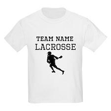 (Team Name) Lacrosse T-Shirt