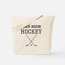 (Team Name) Hockey Tote Bag