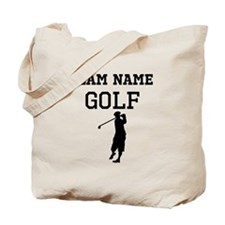 (Team Name) Golf Tote Bag